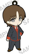 main photo of Little Busters! Refrain Trading Rubber Strap: Naoe Riki