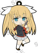 main photo of Little Busters! Refrain Trading Rubber Strap: Tokido Saya