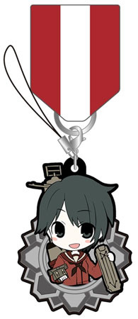 main photo of Kantai Collection -Kan Colle- Kanmusume Medal Collection Rubber Type: Mogami