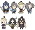 photo of D4 Series Fire Emblem Awakening Rubber Keychain -all unit collection- Vol.2: Owain