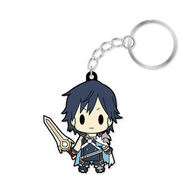 main photo of D4 Series Fire Emblem Awakening Rubber Keychain -all unit collection- Vol.1: Chrom