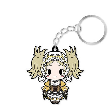main photo of D4 Series Fire Emblem Awakening Rubber Keychain -all unit collection- Vol.1: Lissa
