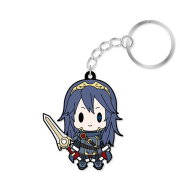 main photo of D4 Series Fire Emblem Awakening Rubber Keychain -all unit collection- Vol.2: Lucina