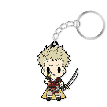 main photo of D4 Series Fire Emblem Awakening Rubber Keychain -all unit collection- Vol.2: Owain