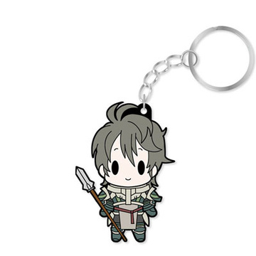 main photo of D4 Series Fire Emblem Awakening Rubber Keychain -all unit collection- Vol.1: Stahl
