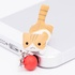 Nyanko Earphone Jack: Jump Brown Ver.