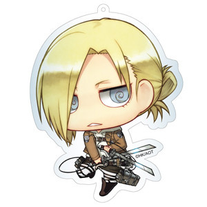 main photo of Attack on Titan Deka Keychain: Annie