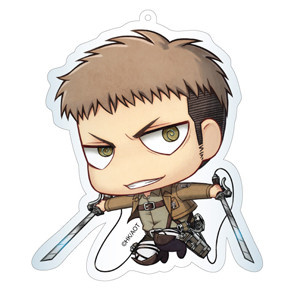 main photo of Attack on Titan Deka Keychain: Jean
