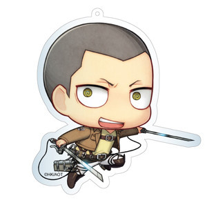 main photo of Attack on Titan Deka Keychain: Conny