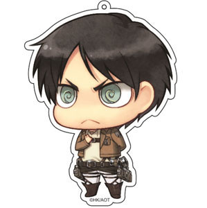 main photo of Attack on Titan Deka Keychain: Eren Jaeger Salute ver.