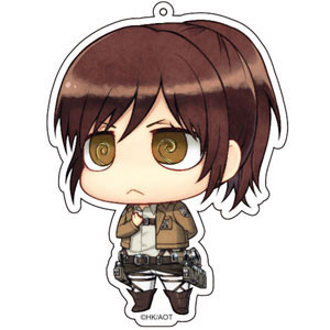 main photo of Attack on Titan Deka Keychain: Sasha Blouse Salute ver.