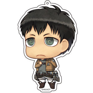 main photo of Attack on Titan Deka Keychain: Bertolt Hoover Salute ver.