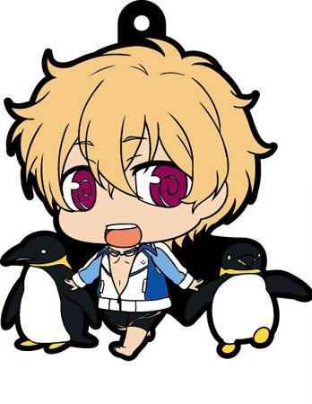main photo of Free! Trading Rubber Strap: Hazuki Nagisa swimsuit Ver.