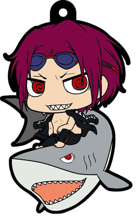 main photo of Free! Trading Rubber Strap: Matsuoka Rin swimsuit Ver.