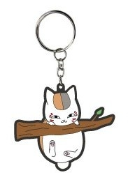 main photo of Natsume Yuujinchou Bendable Charm: Nyanko-sensei Hanging Ver.