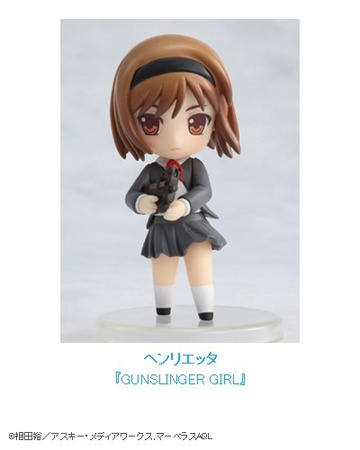 main photo of Dengeki Heronies Figure Collection 2.5: Henrietta