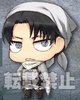photo of Attack on Titan Chimi Chara Plushie Cleaning Levi