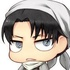 Shingeki no Kyojin Rubber Strap Collection: Levi Cleaning Ver.