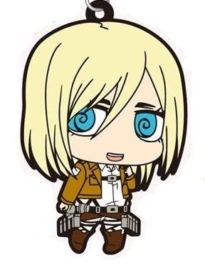 main photo of Shingeki no Kyojin Rubber Strap Collection: Krista Lenz