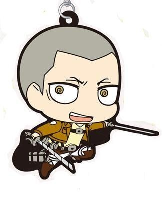 main photo of Shingeki no Kyojin Rubber Strap Collection: Conny Springer