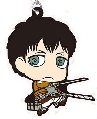 main photo of Shingeki no Kyojin Rubber Strap Collection: Bertolt Huber