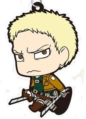 main photo of Shingeki no Kyojin Rubber Strap Collection: Reiner Braun