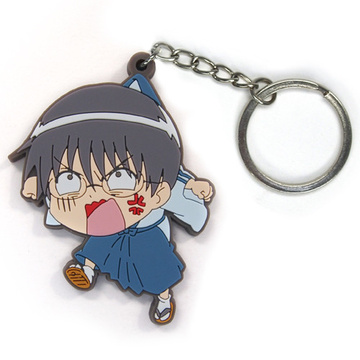 main photo of Gintama Tsumamare Key Rings: Shimura Shinpachi