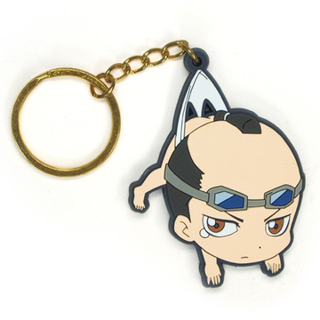 main photo of Gintama Tsumamare Key Rings: Tokukawa Shigeshige