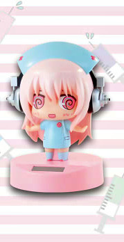 main photo of Sonico Dancing Solar Chimi Blue Nurse Ver. (B)