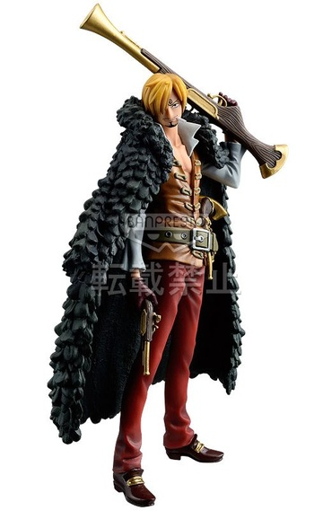 main photo of The Grandline Men Film Z DXF Figure vol.2 Sanji
