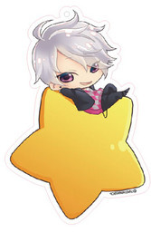 main photo of Brothers Conflict Deka Keychain Star Version: Asahina Tsubaki