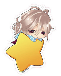 main photo of Brothers Conflict Deka Keychain Star Version: Asahina Louis