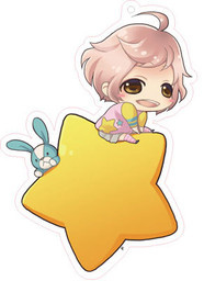 main photo of Brothers Conflict Deka Keychain Star Version: Asahina Wataru