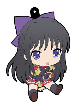 main photo of Walkure Romanze Petanko Rubber Strap: Akane Ryuuzouji