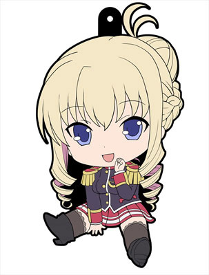 main photo of Walkure Romanze Petanko Rubber Strap: Bertille Althusser