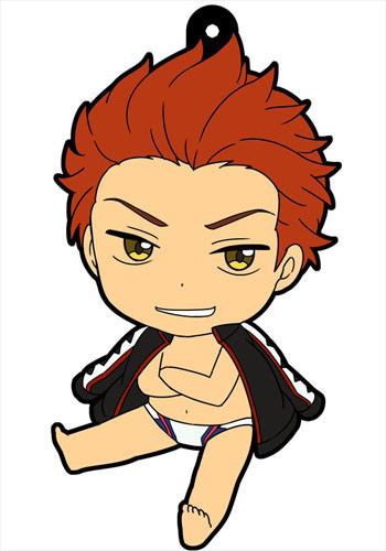 main photo of Petanko Free! Trading Rubber Strap Vol.1: Mikoshiba Seijuurou