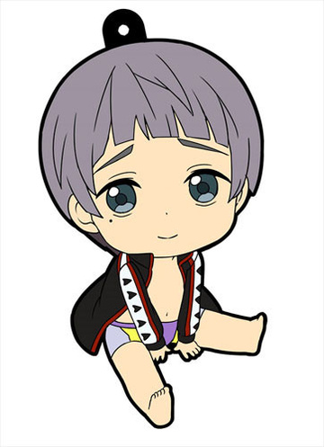 main photo of Petanko Free! Trading Rubber Strap Vol.1: Nitori Aiichirou