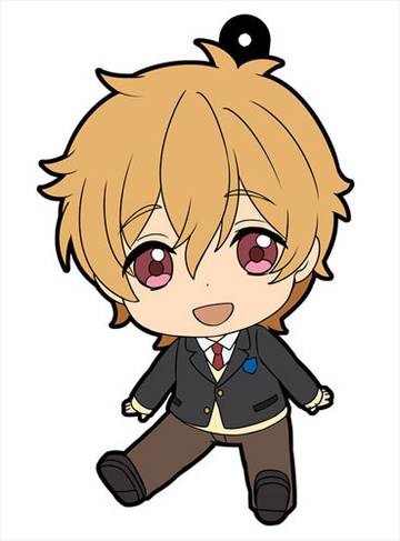 main photo of Petanko Free! Trading Rubber Strap Vol.2: Hazuki Nagisa school uniform ver.