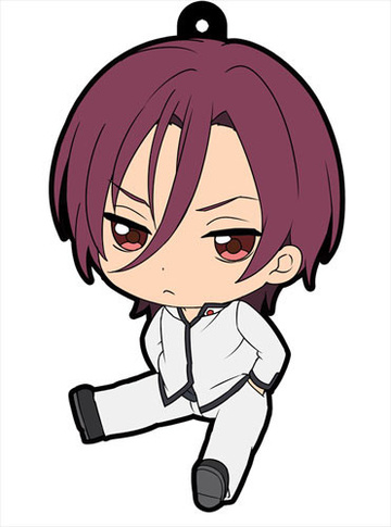 main photo of Petanko Free! Trading Rubber Strap Vol.2: Matsuoka Rin school uniform ver.