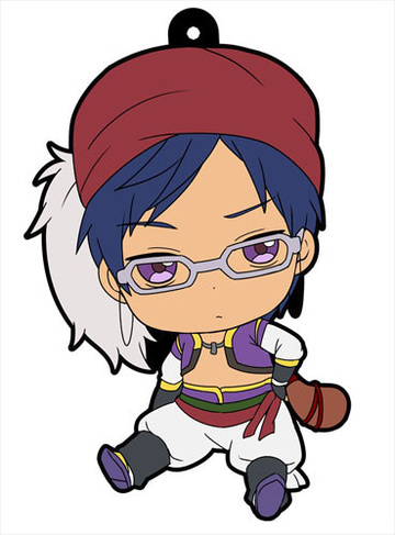 main photo of Petanko Free! Trading Rubber Strap Vol.2: Ryuugazaki Rei