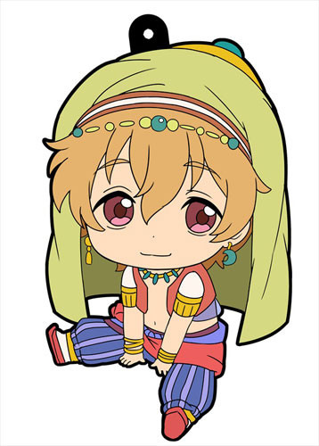 main photo of Petanko Free! Trading Rubber Strap Vol.2: Hazuki Nagisa