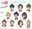 photo of Petanko Free! Trading Rubber Strap Vol.1: Amakata Miho