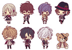 photo of Diabolik Lovers Rubber Strap Collection -es series nino-: Sakamaki Reiji