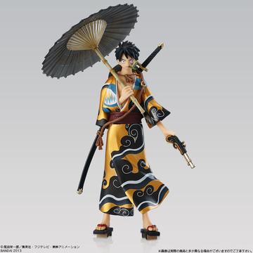 main photo of Super One Piece Styling EX Kimono Style: Luffy Jump Festa limited color ver.