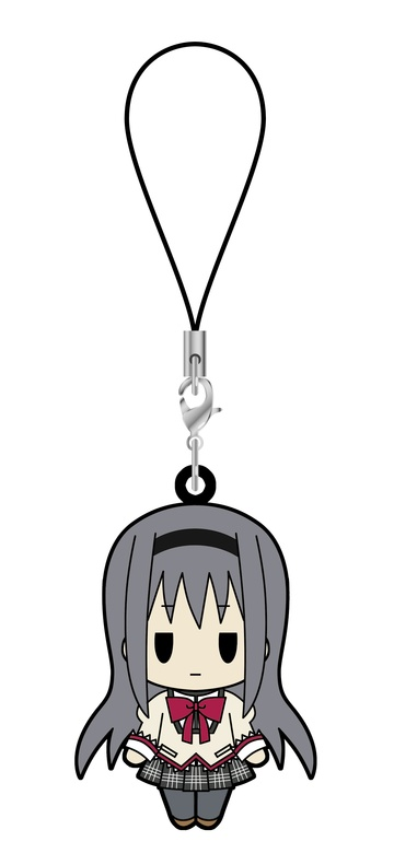 main photo of D4 Puella Magi Madoka Magica Rubber Strap Collection Vol.1: Homura Akemi