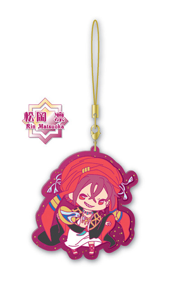 main photo of Free! Clear Rubber Strap ~in oasis~: Matsuoka Rin