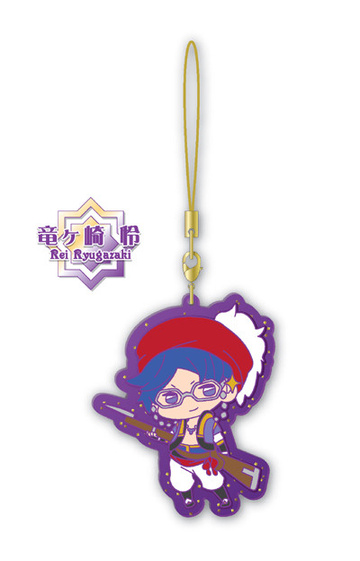 main photo of Free! Clear Rubber Strap ~in oasis~: Ryugazaki Rei