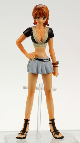 main photo of One Piece Memories of Merry Pirates Figures Vol. 1: Nami
