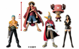 photo of One Piece Memories of Merry Pirates Figures Vol. 1: Monkey D. Luffy