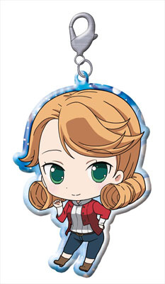 main photo of Galilei Donna Trading Metal Charm Strap: Hendrix Anna
